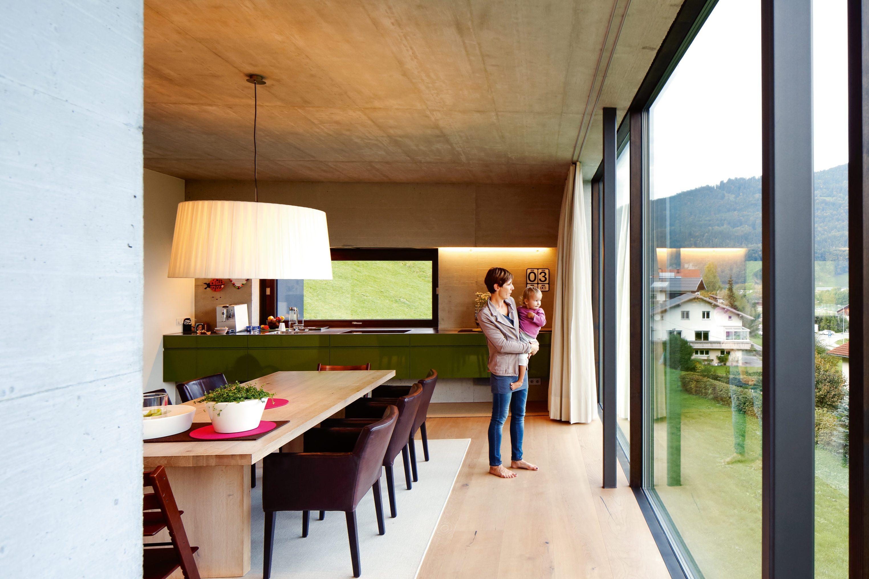 neues haus das reduzierte wohnhaus der familie steurer bau kultur in vorarlberg. Black Bedroom Furniture Sets. Home Design Ideas