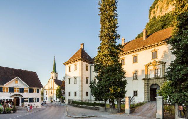 Hohenems, City, Renaissance Palais, Church (c) Dietmar Walser