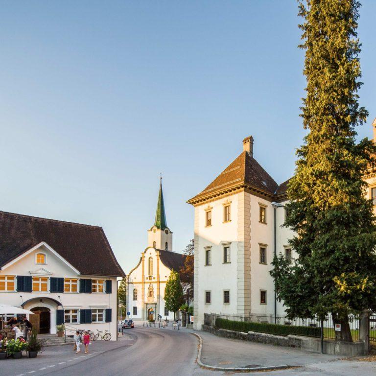Renaissance Palast Hohenems, Kulturrouten, Stadtrundgang (c) Dietmar Walser