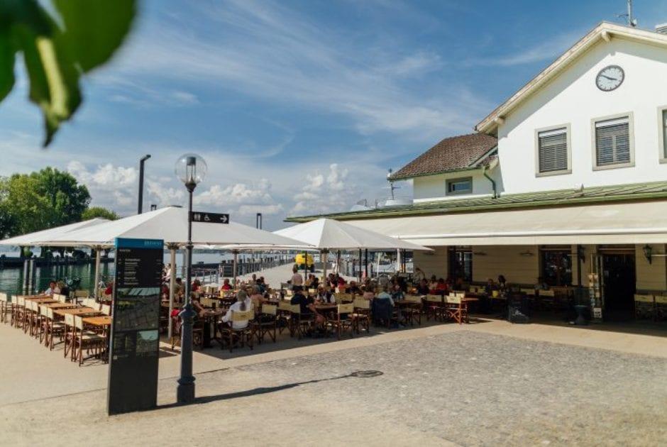 Restaurant pier69, Am Hafen, Bregenz (c) Weissengruber u. Partner / Bodensee-Vorarlberg Tourismus
