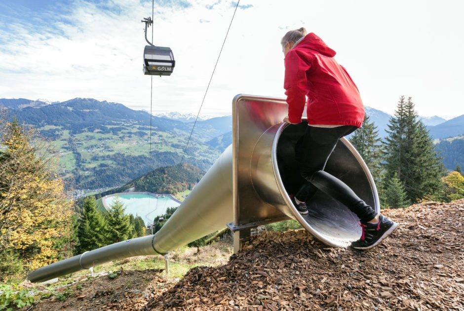 Waldrutschenpark-Golm © Andreas Haller/Montafon Tourismus GmbH
