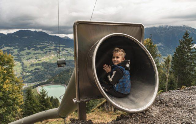 Waldrutschenpark-Golm © Golm Silvretta Lünersee Tourismus GmbH - Philipp Schilcher