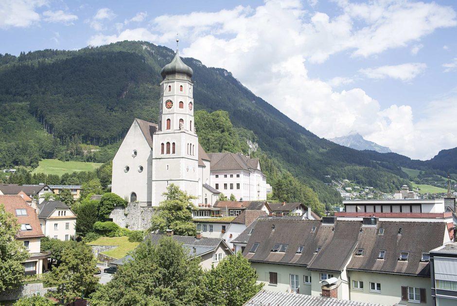 Bludenz, Laurentiuskirche, Pilgerwege Vorarlberg (c) Darko Todorovic / Vorarlberg Tourismus GmbH