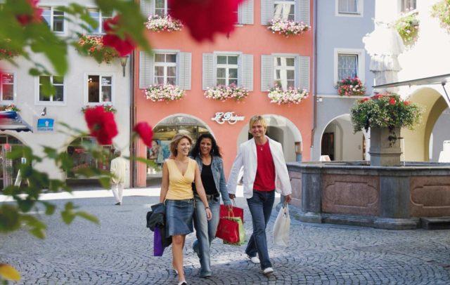 einkaufen, shopping, Innenstadt, Bludenz, Vorarlberg, Austria
