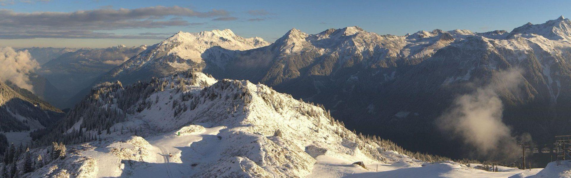 Erster Schnee, Silvretta Montafon