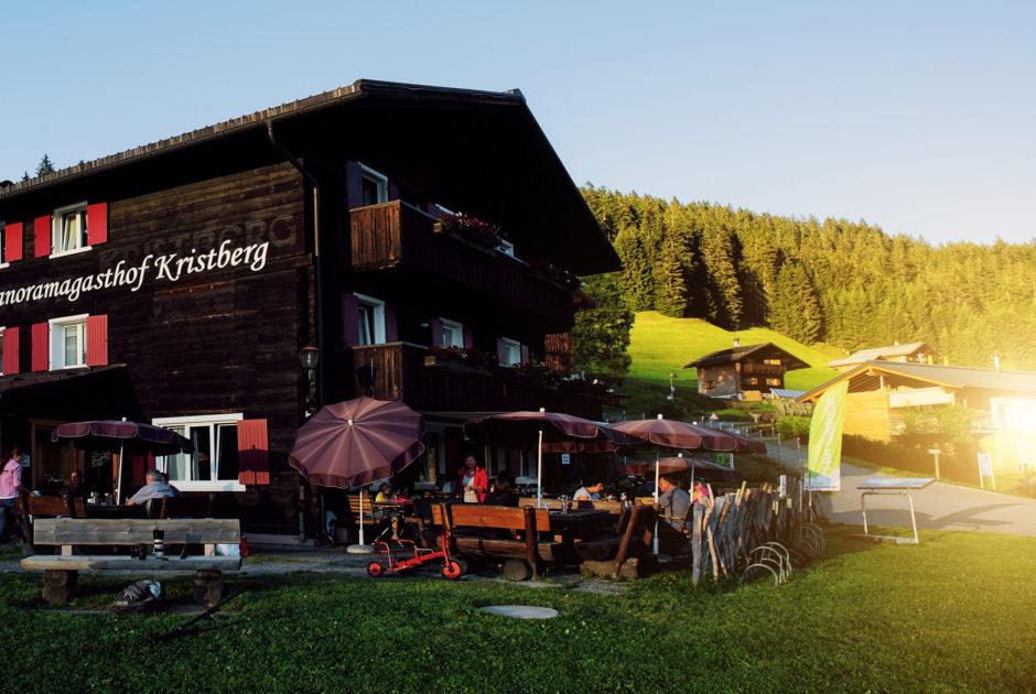 Panoramagasthof Kristberg © Markus Gmeiner / Vorarlberg Tourismus GmbH