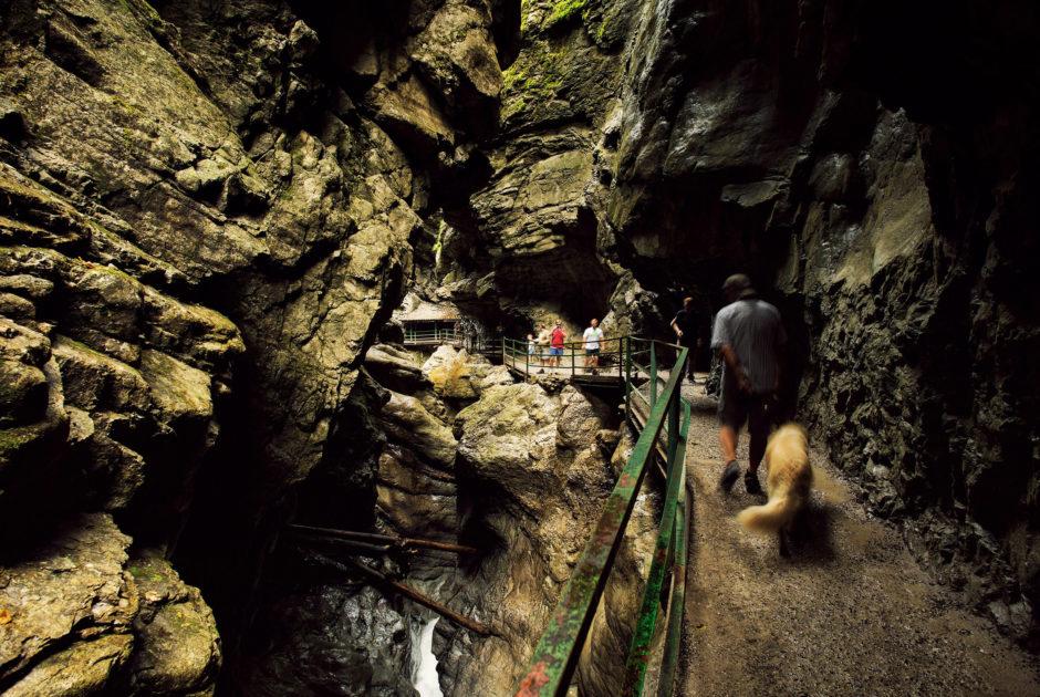 Breitachklamm, Kleinwalsertal © Markus Gmeiner / Vorarlberg Tourismus GmbH