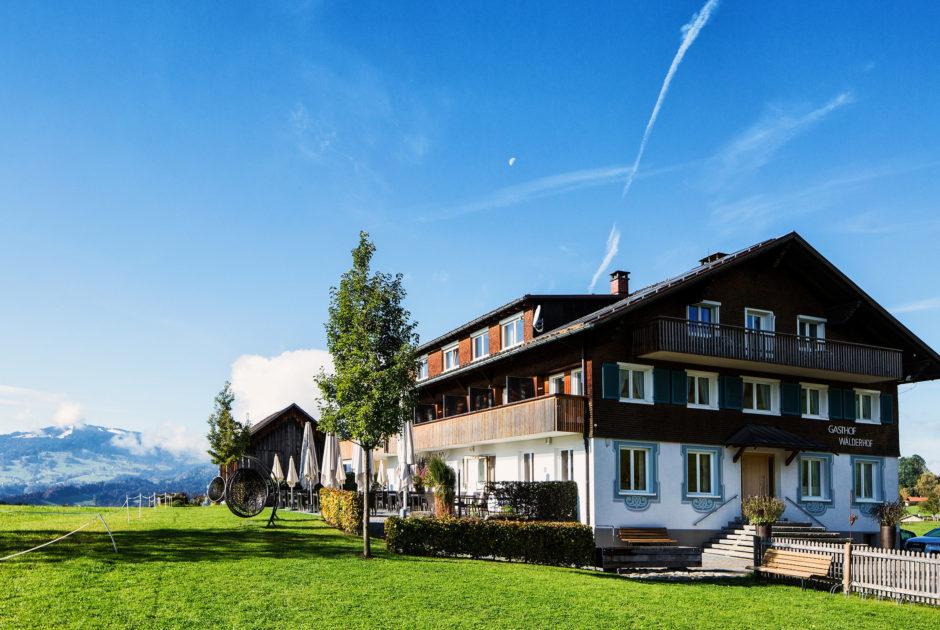 Gasthof Wälderhof © Markus Gmeiner / Vorarlberg Tourismus GmbH