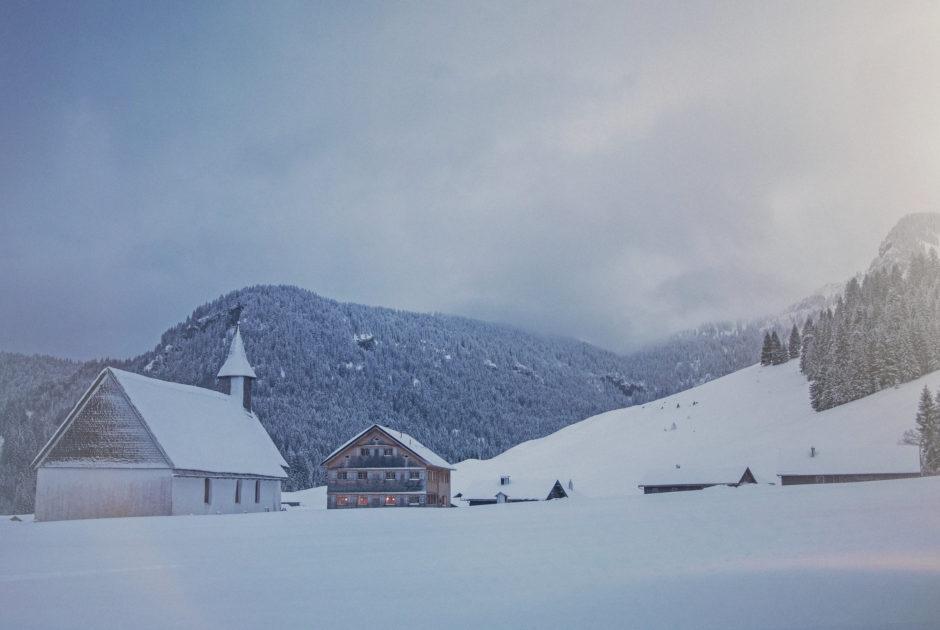 Jagdgasthaus Egender, Schönenbach © Markus Gmeiner / Vorarlberg Tourismus GmbH