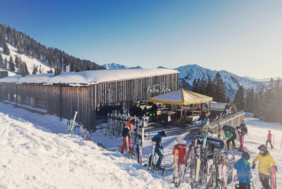 Sonnenrestaurant Falba Stuba, Laterns © Markus Gmeiner / Vorarlberg Tourismus GmbH