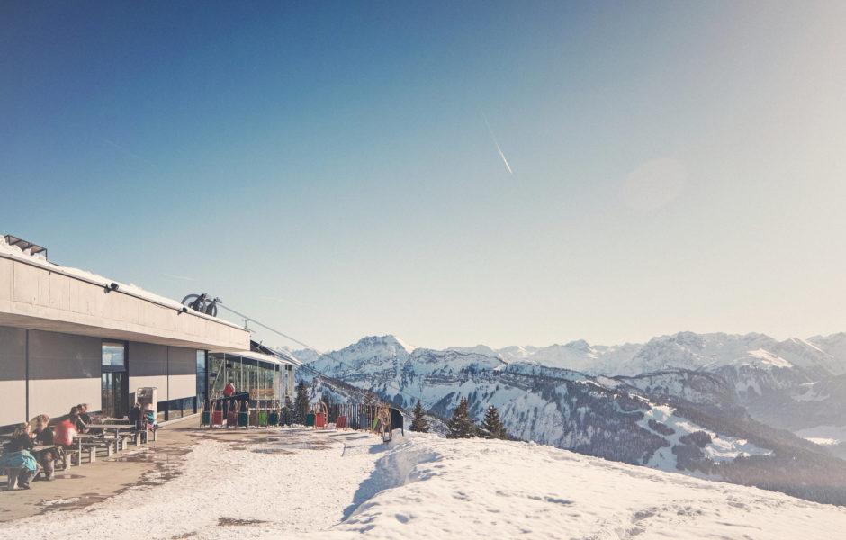 Panoramarestaurant Baumgarten, Bezau © Markus Gmeiner / Vorarlberg Tourismus GmbH