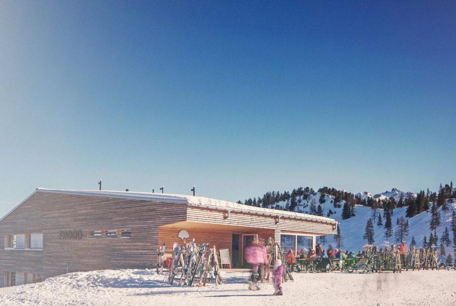 Restaurant Frööd, Brand, Après-Ski in Vorarlberg © Markus Gmeiner / Vorarlberg Tourismus GmbH