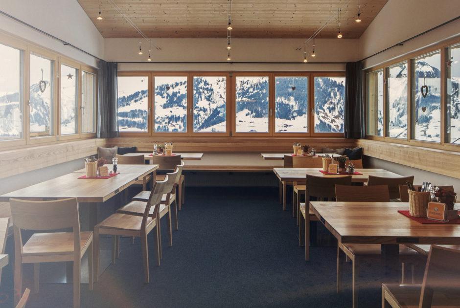 Seilbahnstuba, Sonntag-Stein © Markus Gmeiner / Vorarlberg Tourismus GmbH