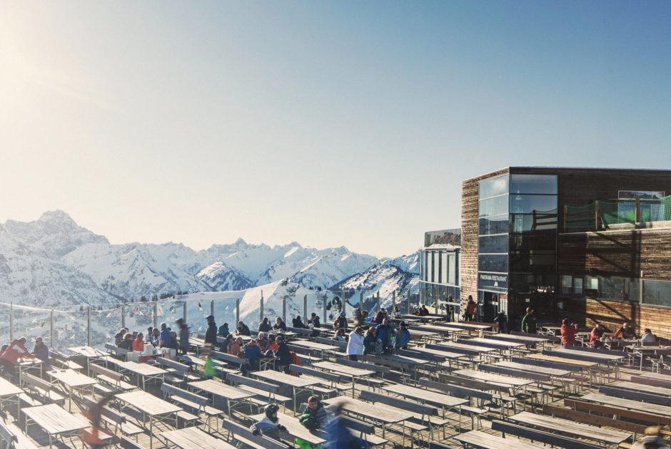Panoramarestaurant Kanzelwandbahn, Riezlern © Markus Gmeiner / Vorarlberg Tourismus GmbH