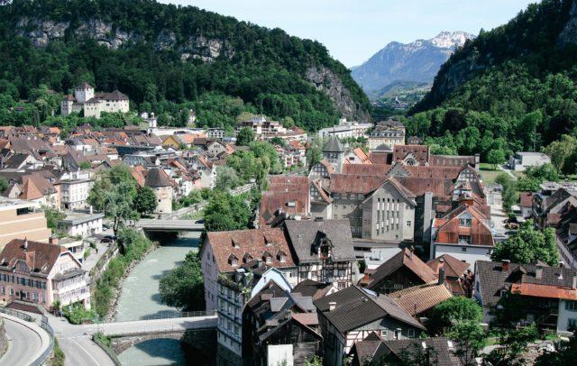 Feldkirch mit Schattenburg (c) bergfex - Vorarlberg Tourismus GmbH