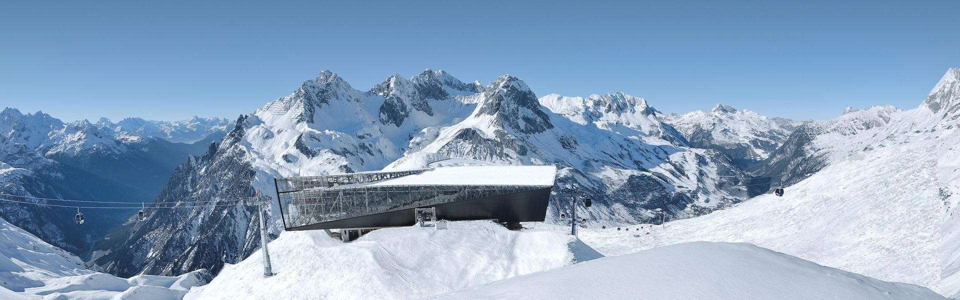Bergstation Flexenbahn, Lech Zürs, Arlberg (c) Ski Arlberg