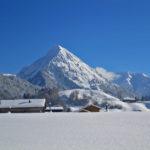 Blick zur Üntschenspitze