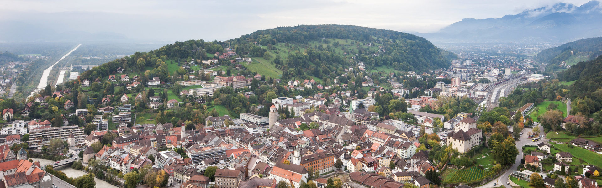 Feldkirch Stadtzentrum, 800 Jahre Feldkirch © Dietmar Walser / Vorarlberg Tourismus