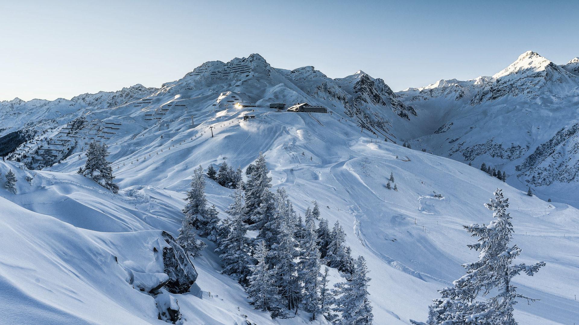 Blick zur Nova Stoba, Silvretta Montafon, Regionen Vorarlberg © Stefan Kothner / Silvretta Montafon