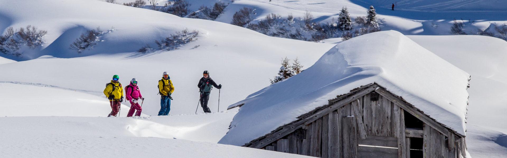 Freeriden in Lech am Arlberg © Gijs Hardeman / Vorarlberg Tourismus GmbH