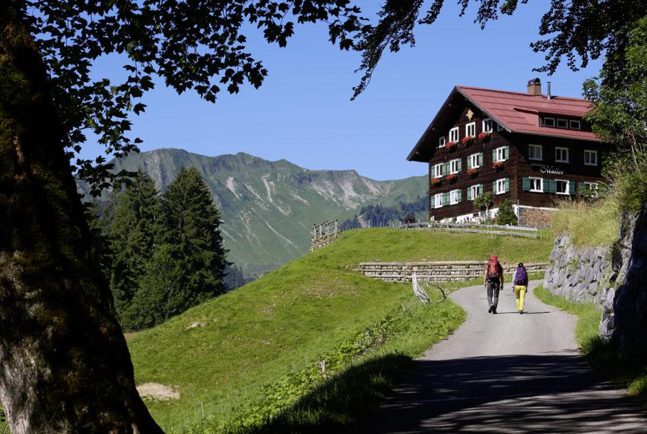 Min Weag-Etappe 9, Contact © Peter Mathis / Vorarlberg Tourismus
