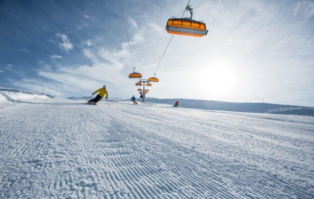 Skifahren im Montafon © Daniel Zangerl / Montafon Tourismus GmbH, Schruns