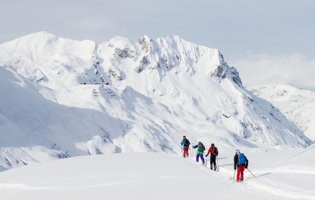 Ski Ride Vorarlberg © Markus Gmeiner / Vorarlberg Tourismus GmbH