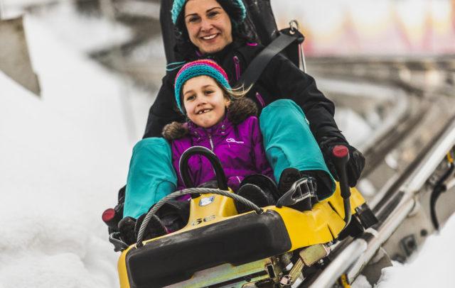 Winter, Alpine Coaster Golm, Montafon © Illwerke Tourismus