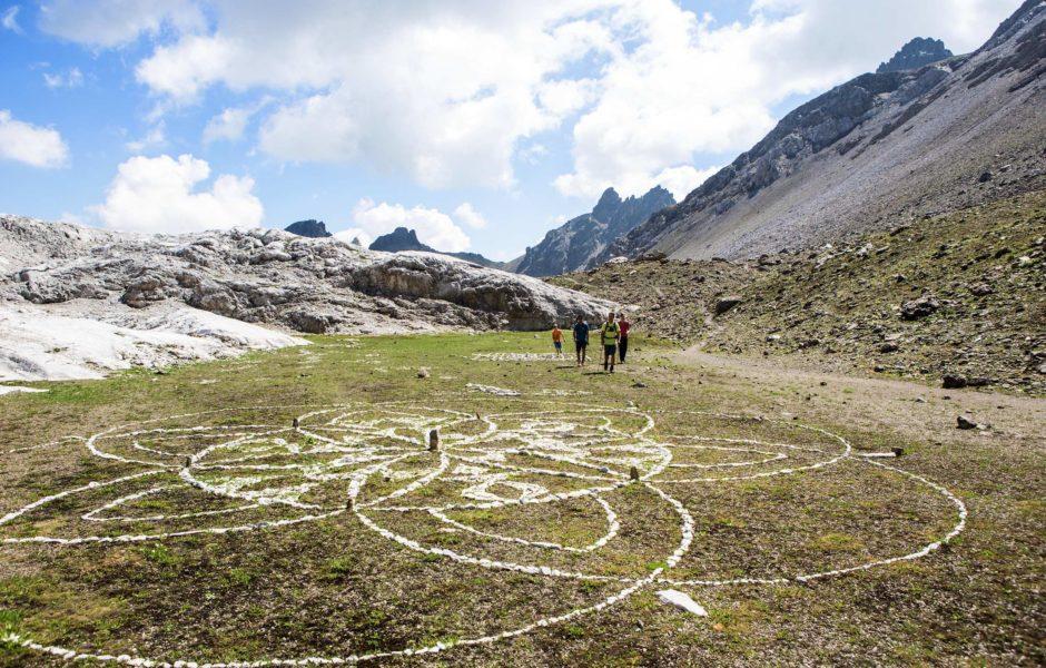 Steinkreise bei der Madrisa Rundtour, Wandern zur Kultur (c) Daniel Zangerl / Montafon Tourismus GmbH