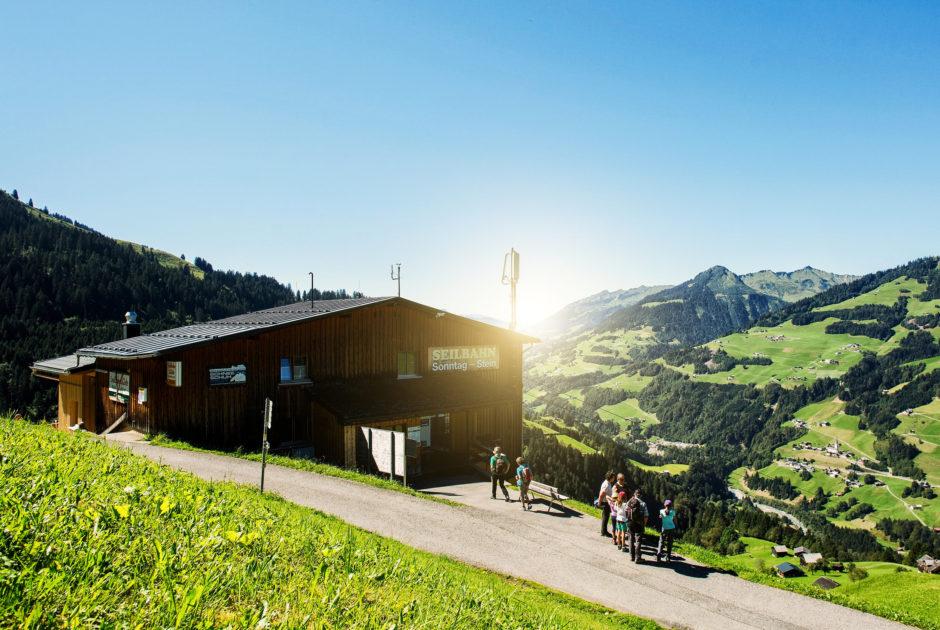 Seilbahnstüble © Markus Gmeiner / Vorarlberg Tourismus GmbH