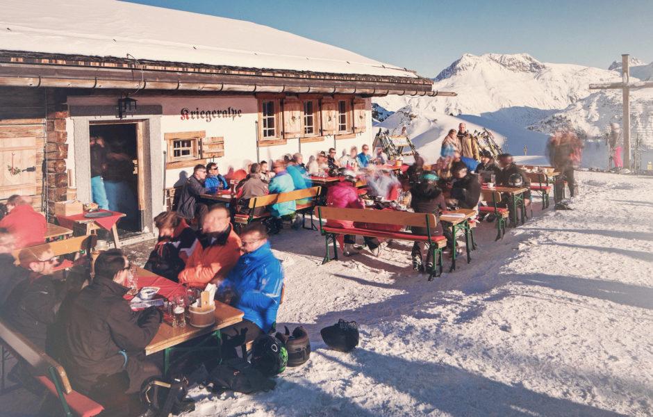Bergrestaurant Kriegeralpe, Lech © Markus Gmeiner / Vorarlberg Tourismus GmbH