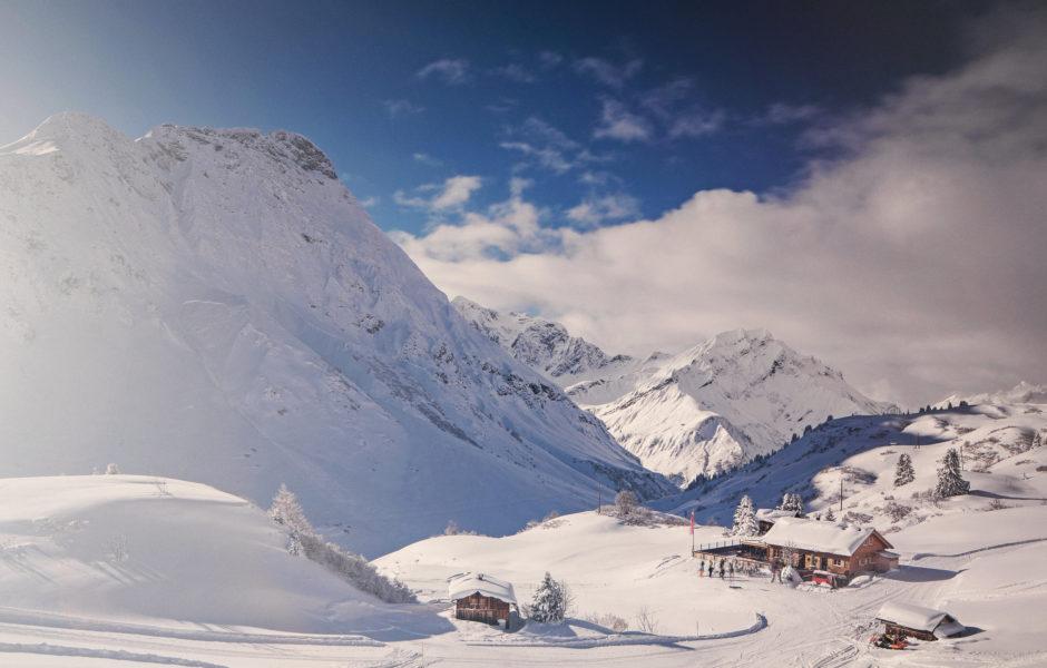 Auenfelder Hütte, Schröcken © Markus Gmeiner / Vorarlberg Tourismus GmbH