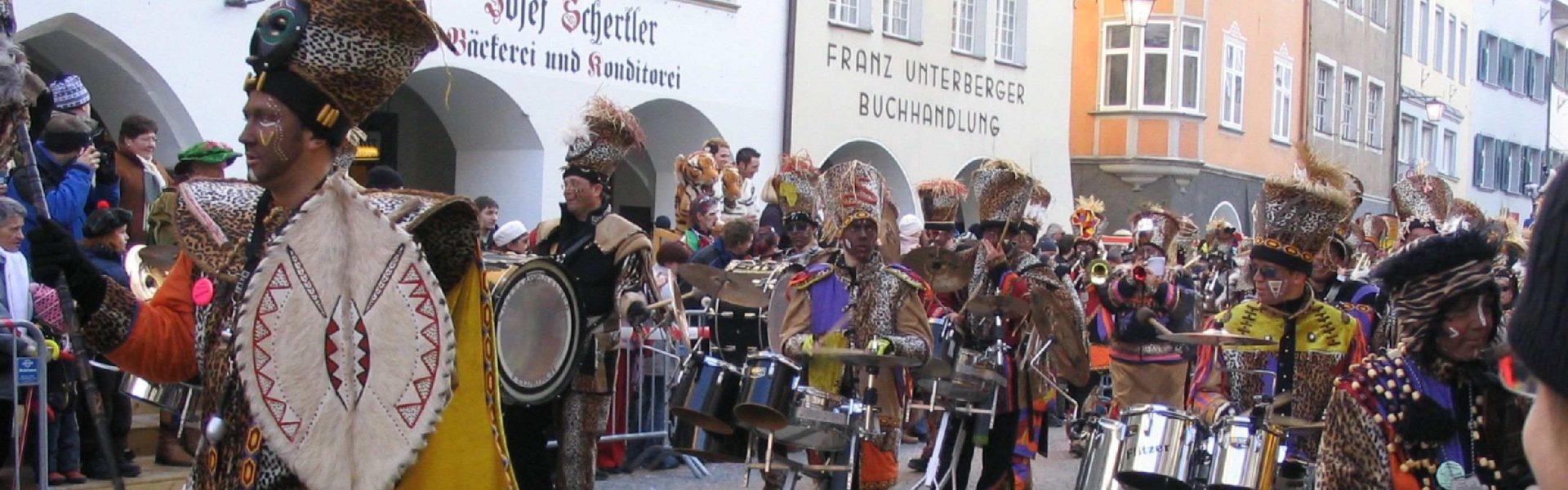 Faschingsumzug Feldkirch, Innenstadt (c) Feldkirch Tourismus