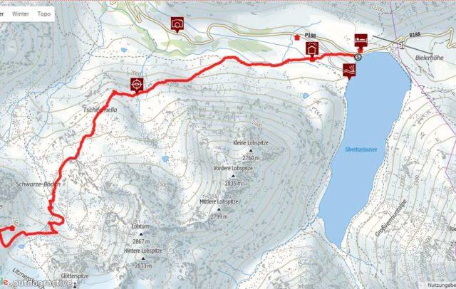Interaktiv Wandern mit der Online Wanderkarte, Wander-, Tourenportal (c) outdoor active / Vorarlberg Tourismus