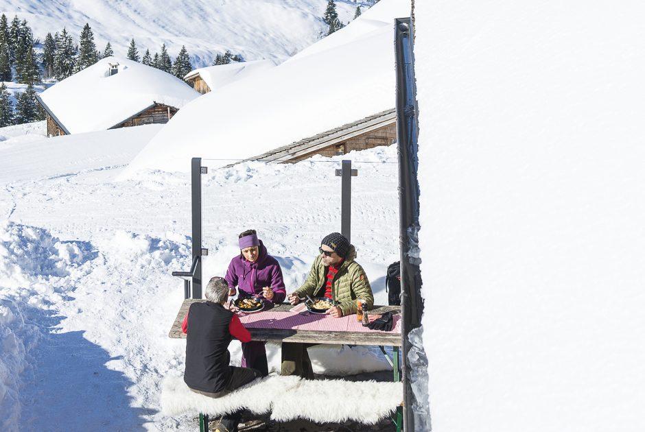 Winterwandern Sonntag-Stein (c) Alex Kaiser - Alpenregion Bludenz Tourismus GmbH