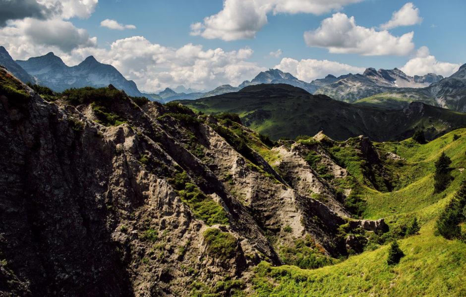 Gipsdolinen, Gipslöcher © Markus Gmeiner / Vorarlberg Tourismus GmbH