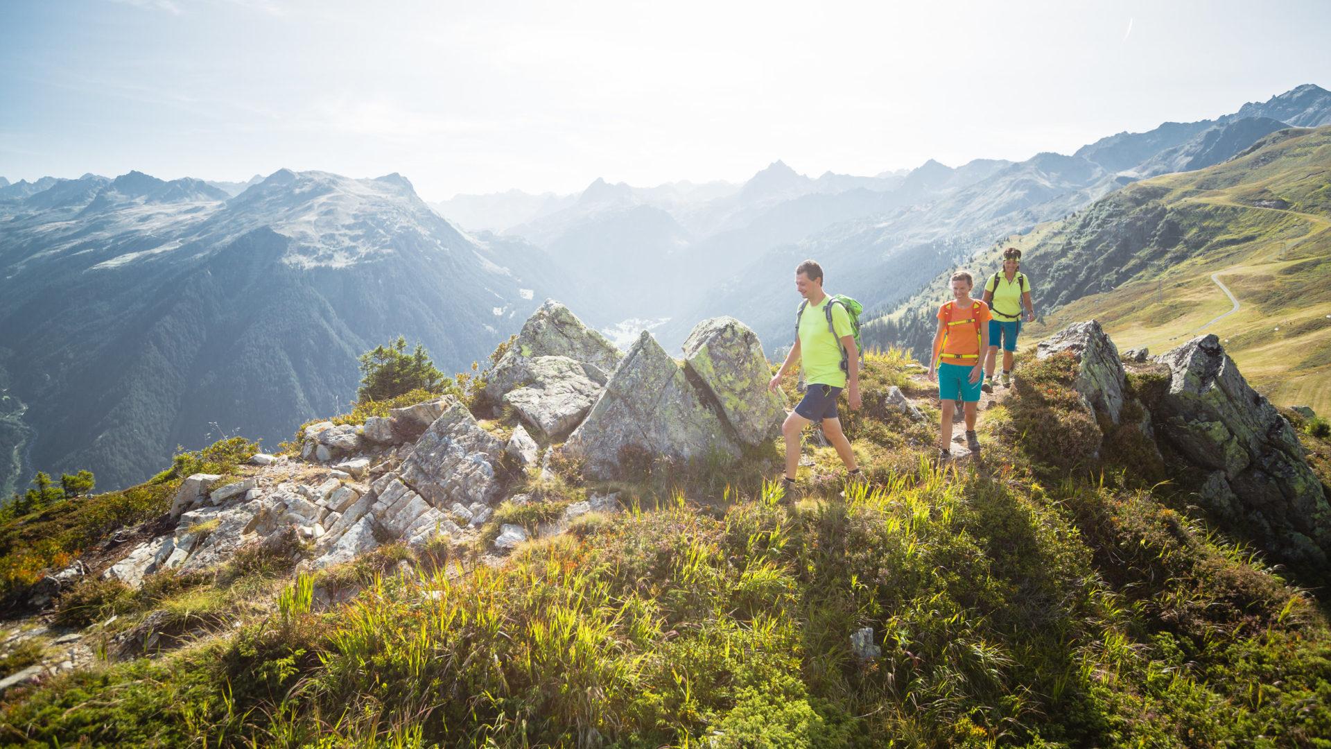 Wanderung über den Gantekopf zur Alp Nova © Stefan Kothner / Montafon Tourismus GmbH, Schruns