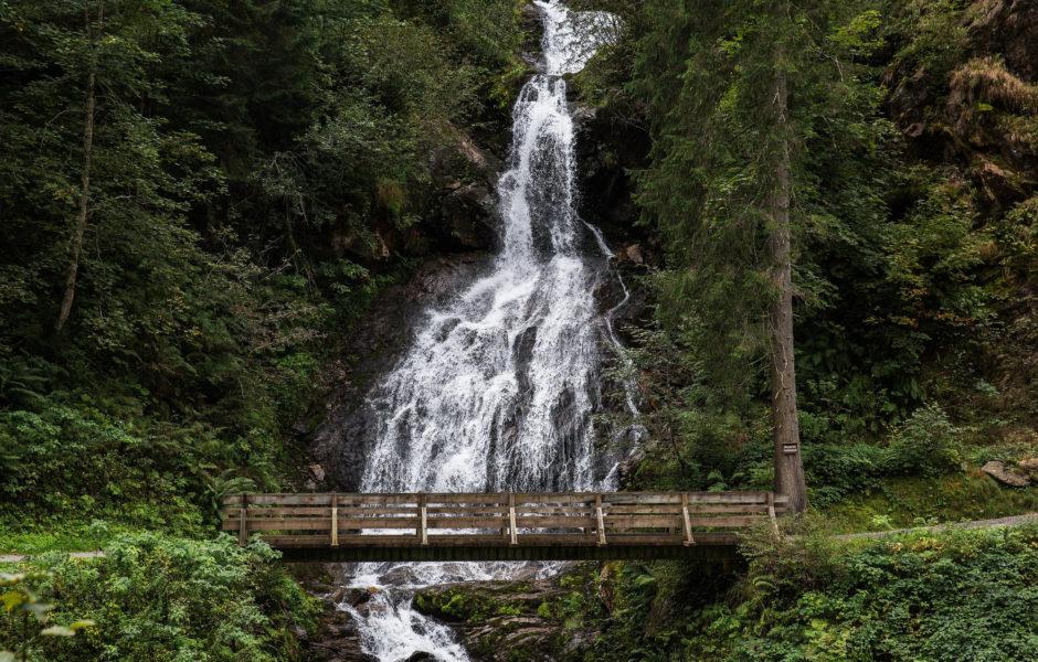 Teufelsbachwasserfall, Montafon © Markus Gmeiner / Vorarlberg Tourismus GmbH
