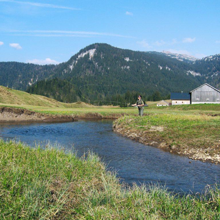 Fliegenfischen im Bregenzerwald (c) Michael Namberger - Bregenzerwald Tourismus