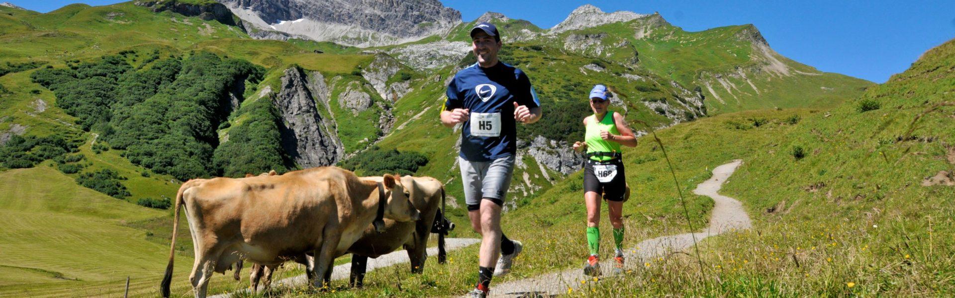 Höhenhalbmarathon im Höhenlaufpark in Lech Zürs am Arlberg (c) Lech Zürs am Arlberg