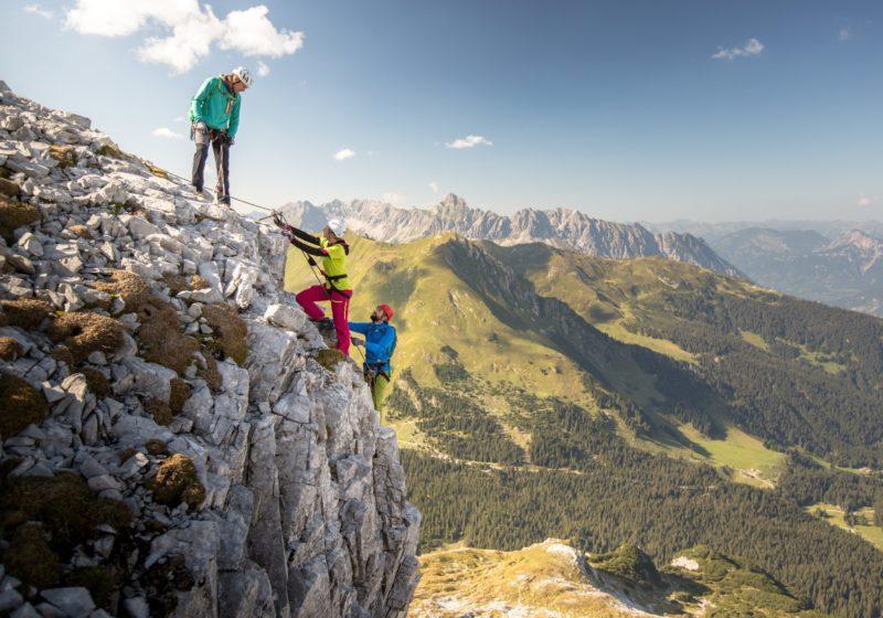 Fallbach Klettersteig Vorarlberg : Klettersteige in vorarlberg