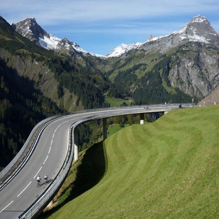 Rennrad fahren in Vorarlberg (c) Ludwig Berchtold / Bregenzerwald Tourismus