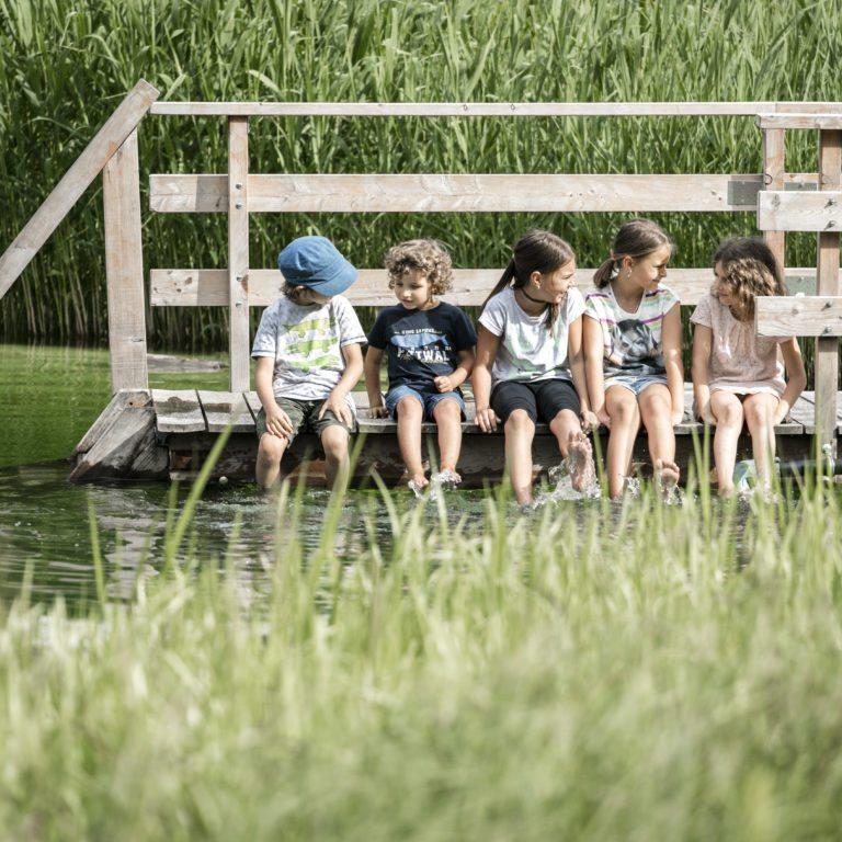 Top Family Familienhotel Sporthotel Beck, Wasser plantschen © Christoph Schöch/Sporthotel Beck