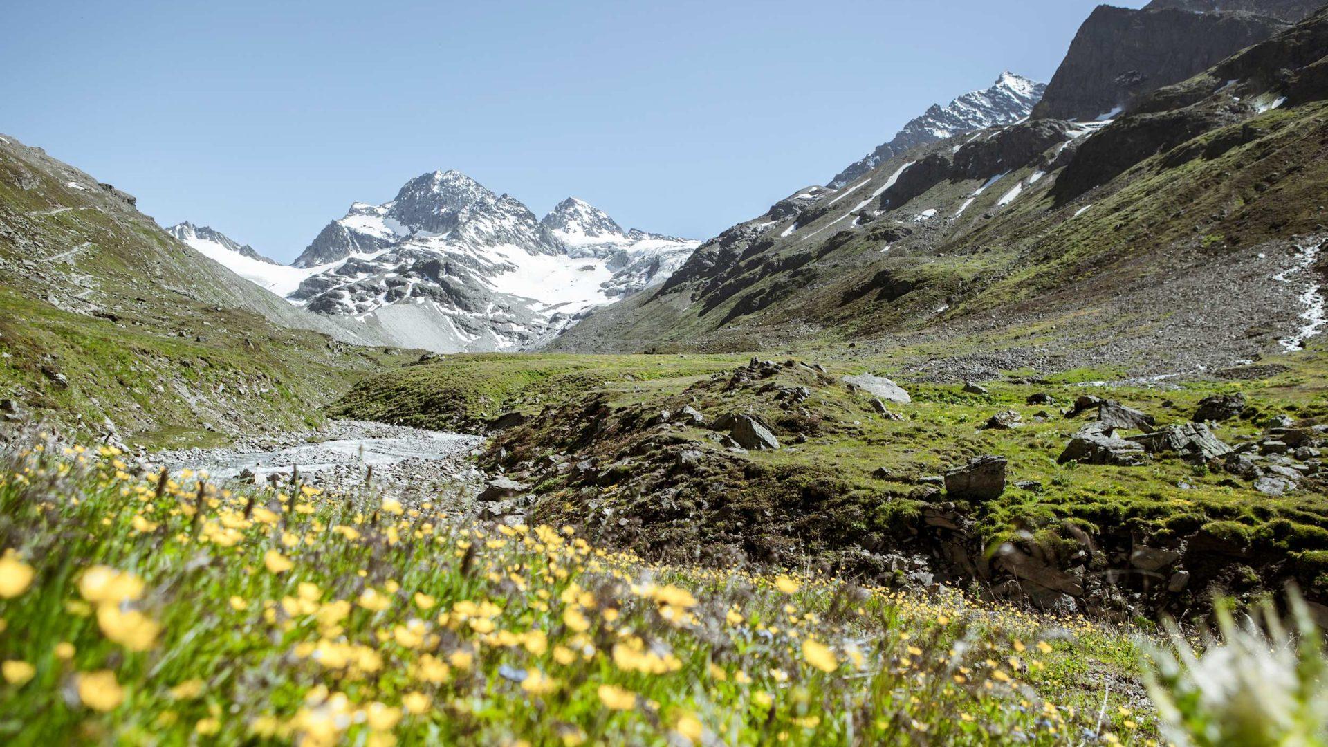 Blick zum Ochsentaler Gletscher (c) Stefan Kothner - Montafon Tourismus GmbH, Schruns