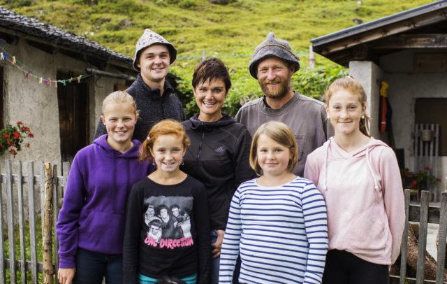 Familie Riedmann Alpe Albona © Darko Dodorovic / Vorarlberg Tourismus