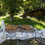 Naturkneippbereich Schwand - Wassertretbecken