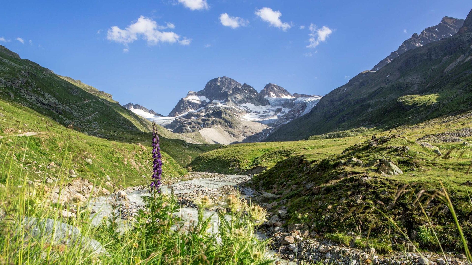 Spring in the Mountains, Piz Buin, Montafon (c) Stefan Kothner / Montafon Tourismus