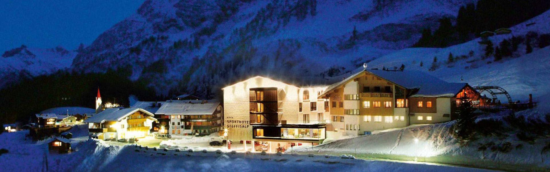 Sporthotel Steffisalp, Warth am Arlberg (c) Sporthotel Steffisalp