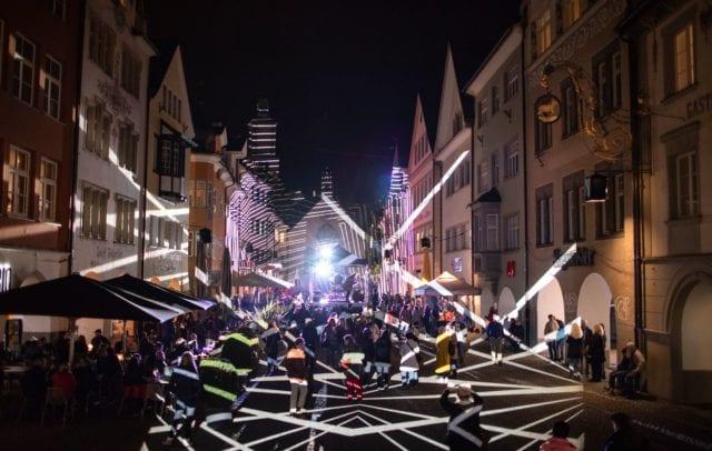 Lichtstadt Feldkirch, Starsky (c) Darko Todorovic / Lichtstadt Feldkirch 2018