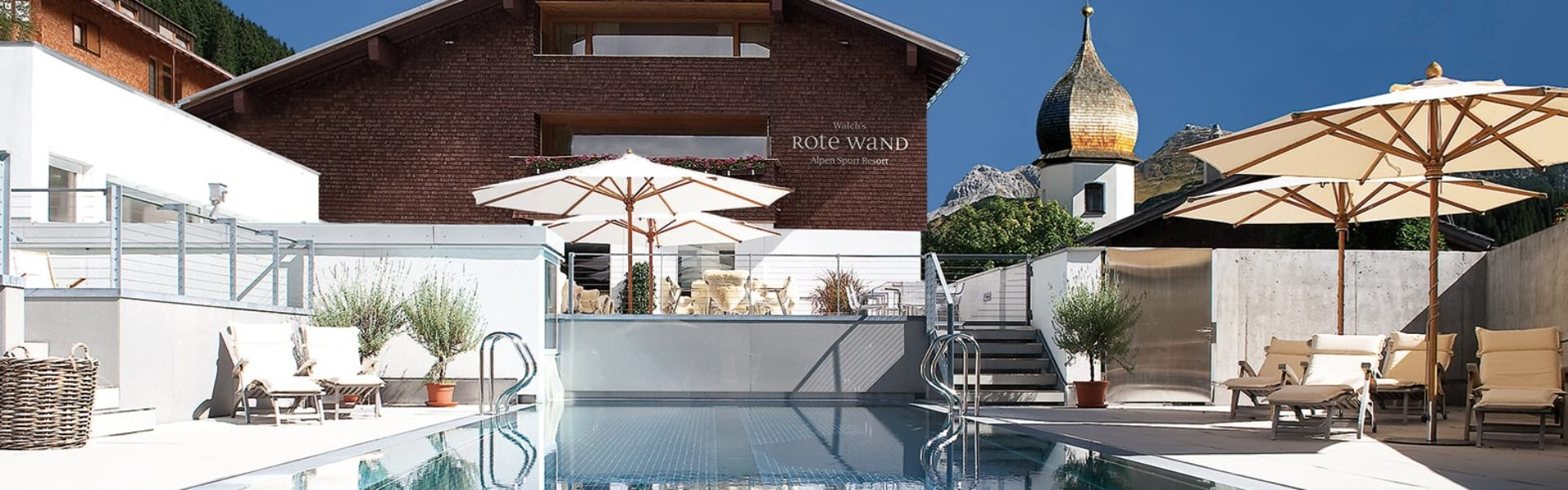Top Family Familienhotel Rote Wand, Lech am Arlberg, Pool © Hotel Rote Wand